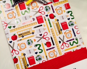 Teacher School Clipboard Personalized for Free Great Christmas Gift