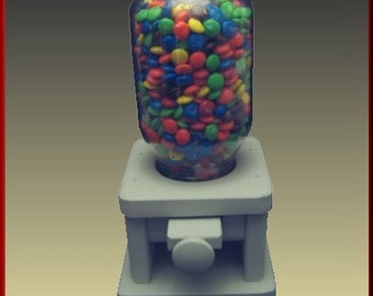 Candy Dispenser with Painted Knob