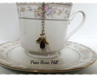 Purple Guardian ANGEL teaball tea infuser