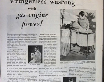 134 Easy Washer Ad - 1928