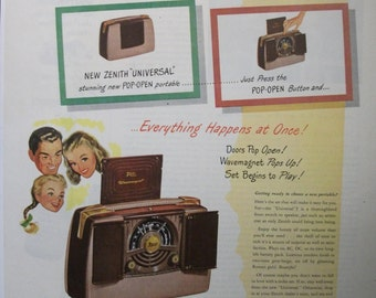 "Rad...139    ""Zenith Radio""  Ad - July 1948"