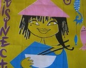 Vintage 1960s Tea Towel - Lefor Openo - La Cuisine Chinoise