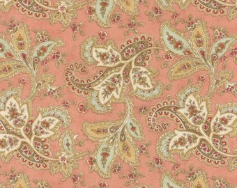 Quilting Cotton fabric | 3 Sisters Larkspur | Pink Paisley 44101 15