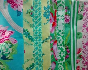 12 Fat Quarters Bundle of Jennifer Paganelli's BEAUTY QUEEN Fabrics ~ 3 yards total