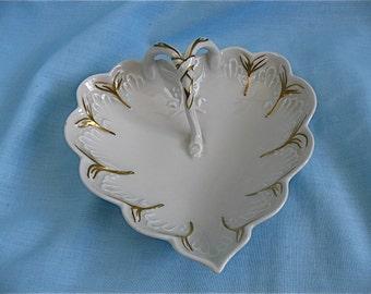 Vintage Limoges Heart Dish