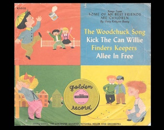 Song from Some of My Best Friends are Children - Vintage 78 rpm Little Golden Record c. 1953