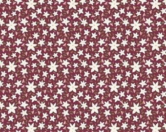 Posy Garden Floral Purple C5422-PURPLE Carina Gardner Riley Blake