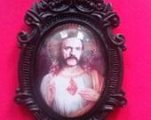 St.Lemmy brooch/pin