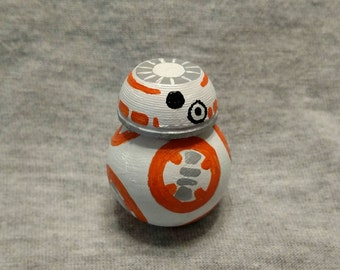 Star Wars Droid BB-8 wood peg miniature