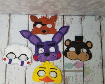 Five nights at freddy mask