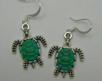 hand painted turtles