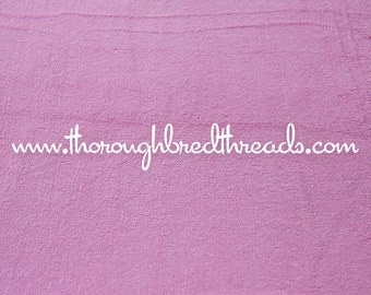 Bright Mod Pink Terry - Vintage Apparel Fabric 60s New Old Stock Terrycloth