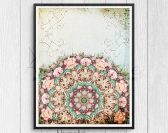 Mandala Wall Art, Printable Wall Art, Printable Art, Wall Art, Wall Decor, Printable, Art Print, Wall Print, Digital Art, Downloadable Art