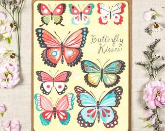 Butterflies - Greeting Card