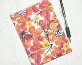 SUMMER SALE - List taker Mini Shopper - Notepad holder  - Garden Sunshine