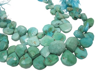 Turquoise Beads, Turquoise Briolettes, Blue turquoise Beads, Turquoise, SKU 4992A