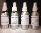 Essential oil aromatherapy spray * 4 varieties * Peppermint, Rosemary mint, Lavender lemon, Orange mint patchouli