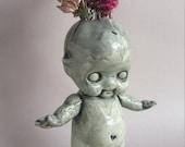 Kewpie Doll Vase - Large, Kewpie doll vase in mint