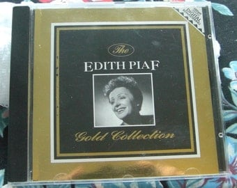 Rare Edith Piaf Gold Collection by Edith Piaf, CD (14 Track Import CD)