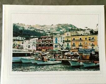 Capri Italy Notecards
