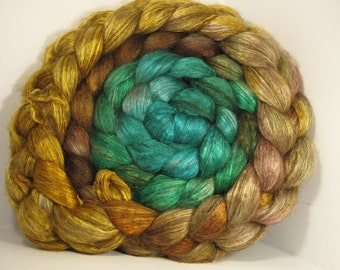 Yak Bombyx Silk 50/50 Roving Combed Top - 5oz - Sensi Star 2 - OoaK