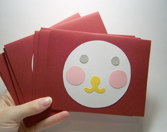 cutie guy face card set