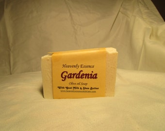 Gardenia  Goat milk olive oil soap