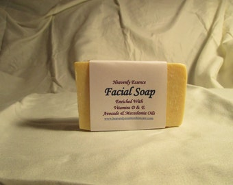 Facial Soap, it's really amazing.  Great for problem skin and works for all skin types.
