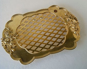 Royal Doulton Expandable Trivet | Old Country Roses | Gold Silver Collection