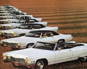 CLEARANCE SALE!! 1968 Cadillac Magazine Ad