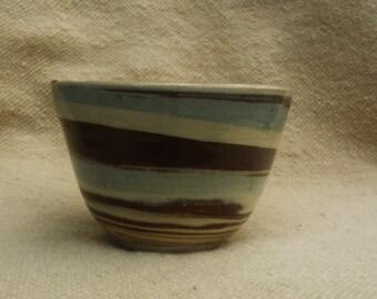 Blue-Brown Bowl 17