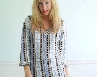 30% off ... Sigma Striped Vintage Sweater Metallic Lurex 80s 90s V Neck Knit MEDIUM M