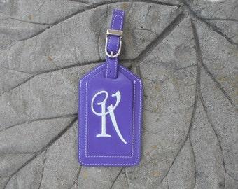 Luggage Tag--Enchanted Font