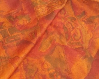 second-hand silk sari sections- Z 7