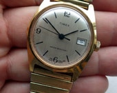 Vintage Timex - Dial made in UK - WInd up - All Original - Works/Keeping Time.