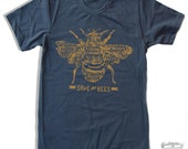 Mens SAVE The BEES american apparel T Shirt All Sizes S M L XL (16 Colos Available)
