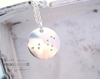 Constellation Necklace . Constellation Jewelry . Star Necklace . Hand Stamped . Personalized Jewelry . In the Stars