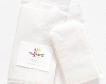 Glassine Bags - Set of 25 Medium Bags