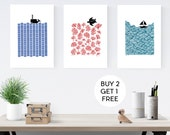 Buy 2 Get 1 FREE - Bundle of THREE Limited Edition Prints - FREE Worldwide Shipping
