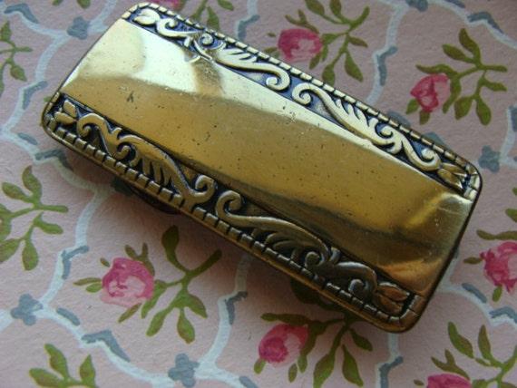 Very Rare Vintage High End Belt Buckle