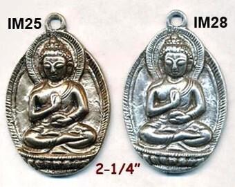 CAST BUDDHA PENDANTS