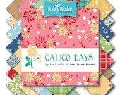 WINTER SALE - Calico Day - Fat Eights Bundle (21 plus 3 panels) - Entire Collection - by Lori Holt for Riley Blake Designs