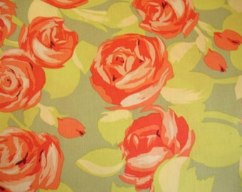 KNITTING BAG APRON - Made to Order - Amy Butler Tumbling Roses - Westminster Rowan - Please allow 3 weeks for delivery