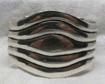 A Bold Sterling Cuff from Mexico