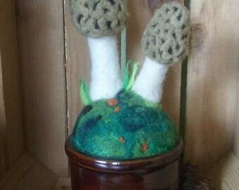 Morel Mushroom Pot