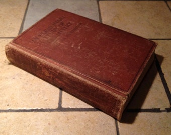 1917 An Elementary Study of Chemistry Antique Text Book