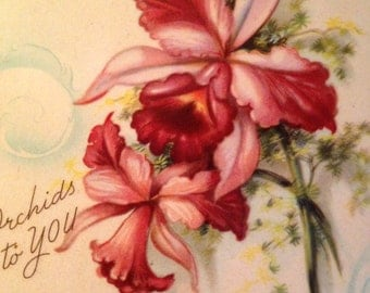 Orchids to You on Mother's Day Plaque