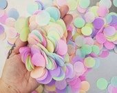 TISSUE PAPER CONFETTI / table decoration / party confetti / confetti toss / rainbow decorations / wedding decoration / balloon confetti