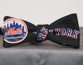 New York Mets Bold Bow tie