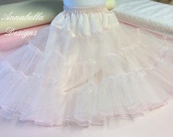 Childs net petticoat